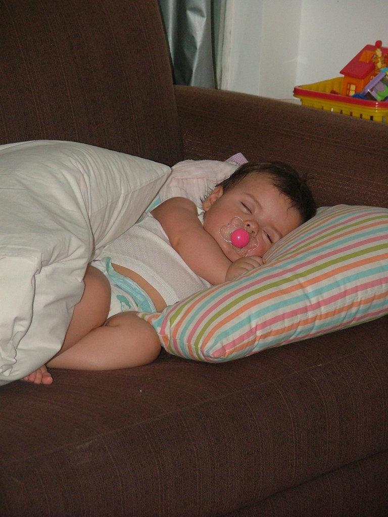 bebê que dormia bem