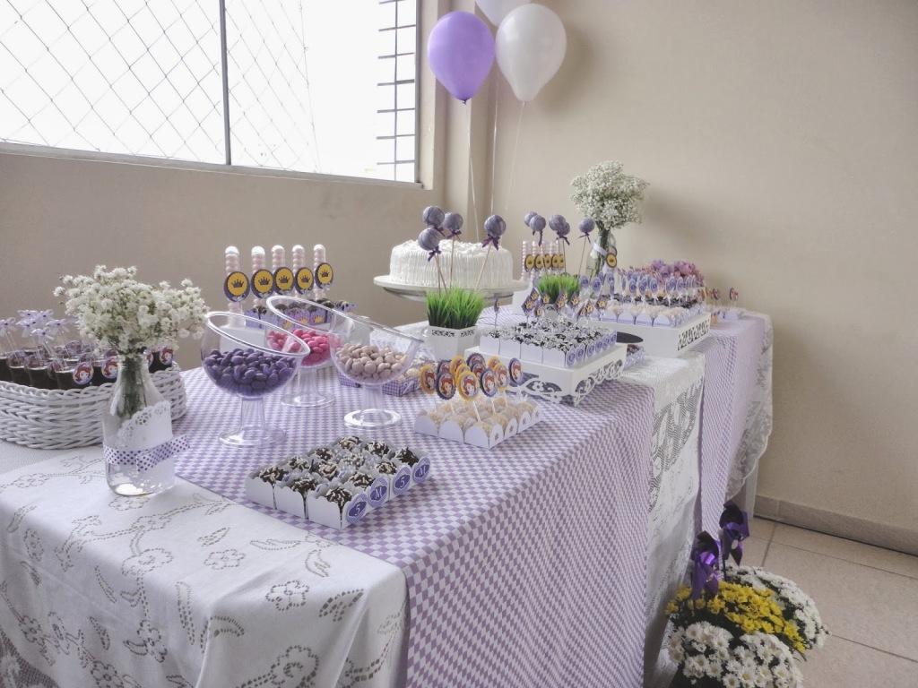 mesa de doces princesinha sofia