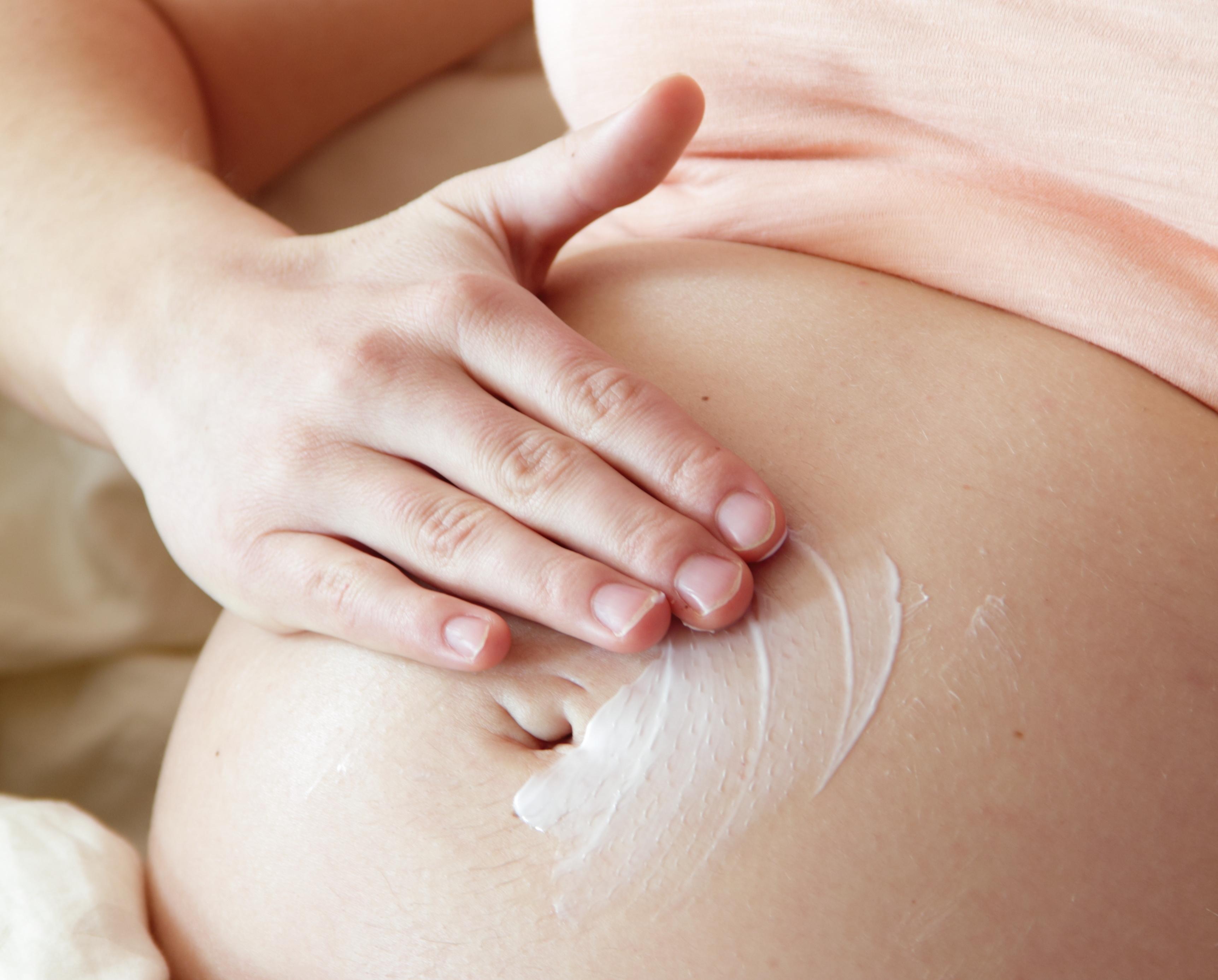 Coceira na barriga de grávida é estria