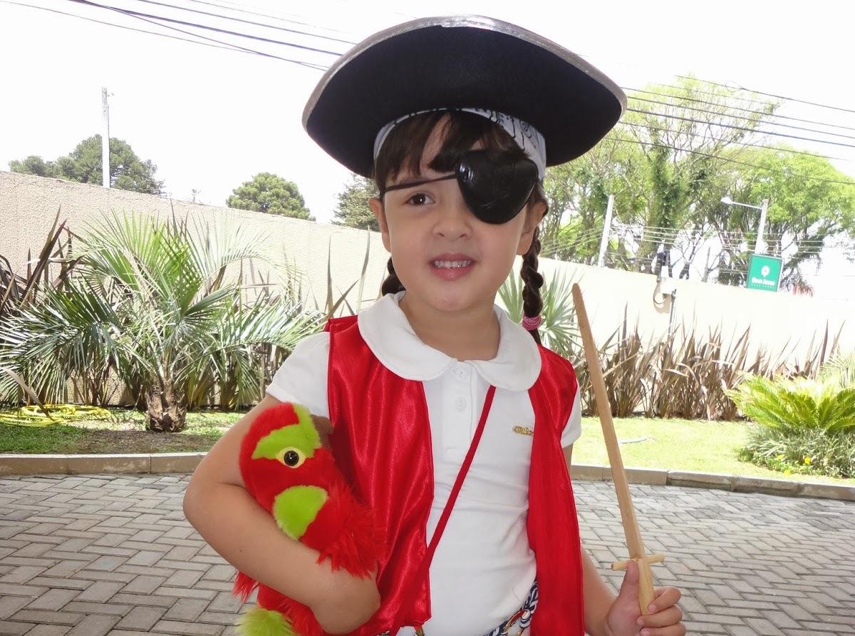 fantasia simples de pirata