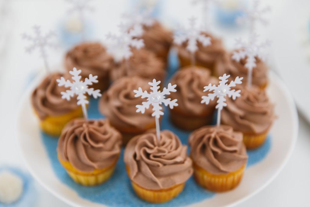 cupcake festa frozen