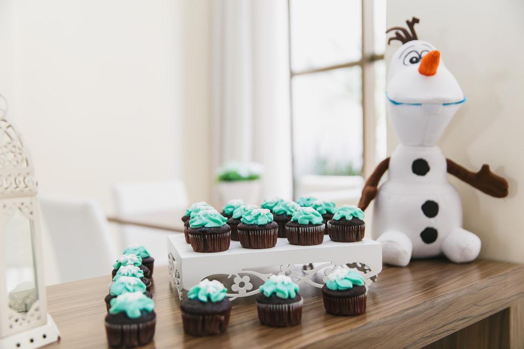 cupcakes festa frozen