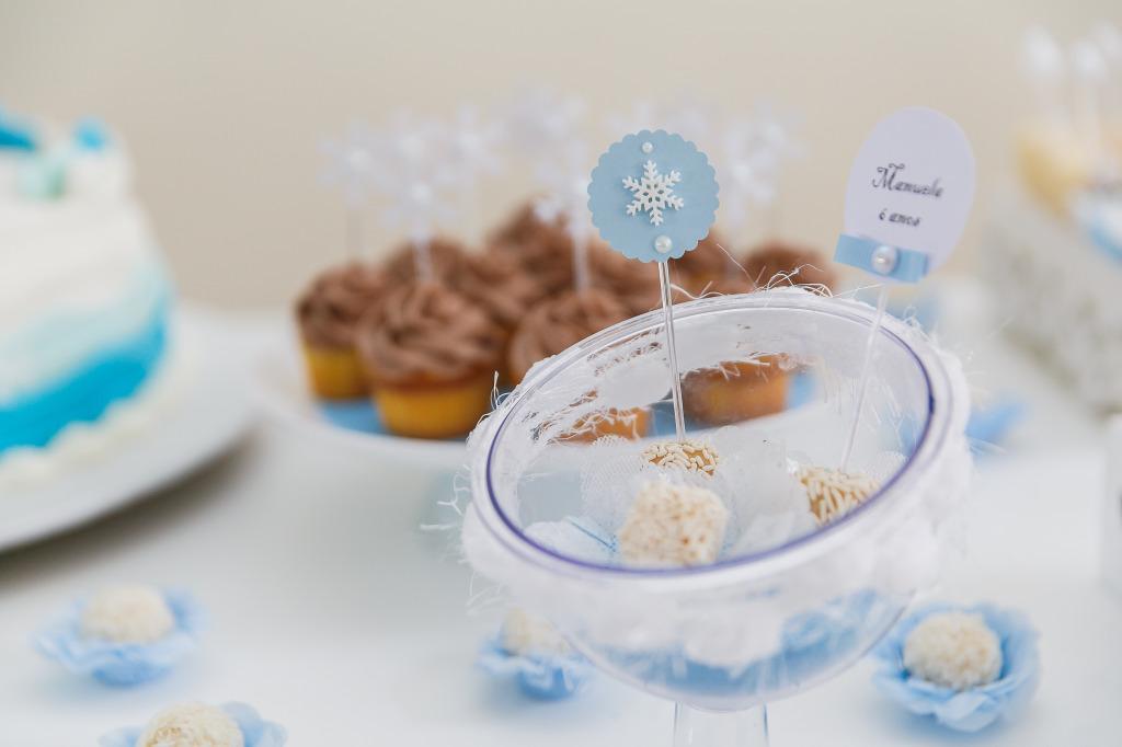 docinhos festa frozen