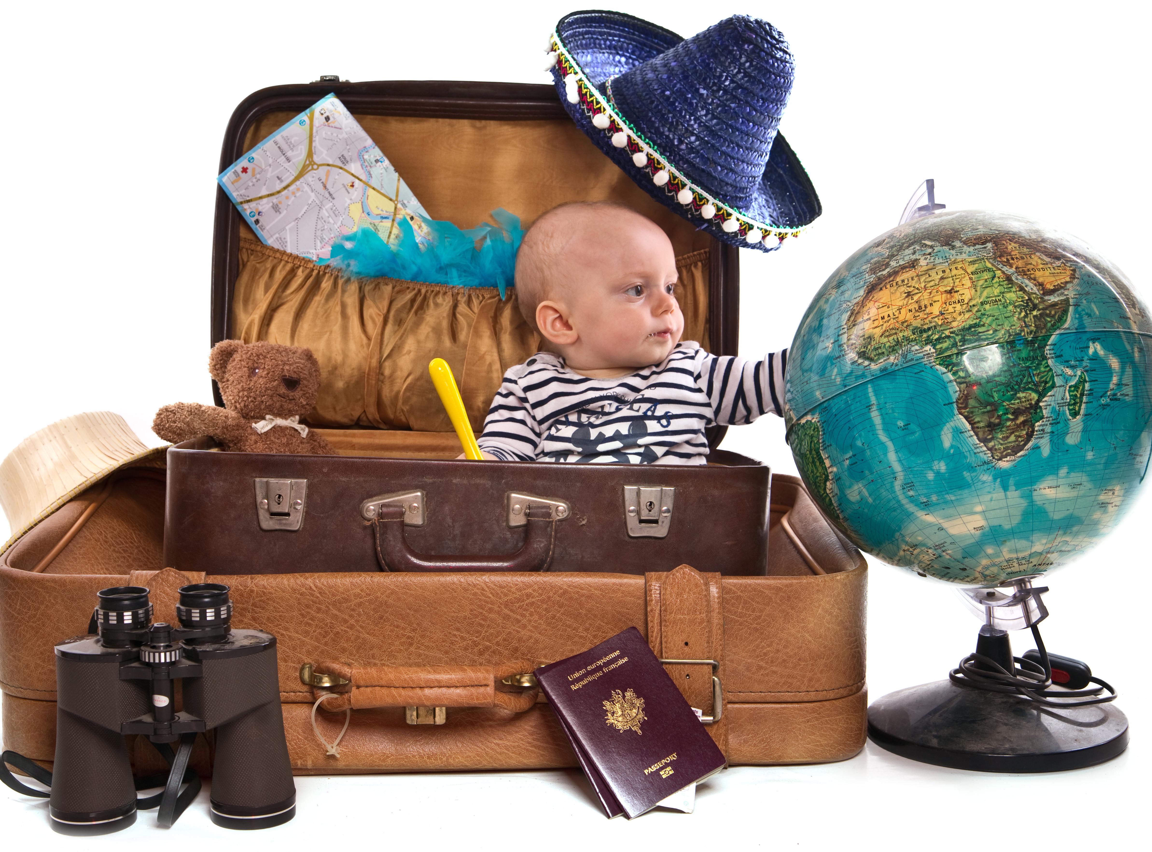 a viagem de avião com bebê