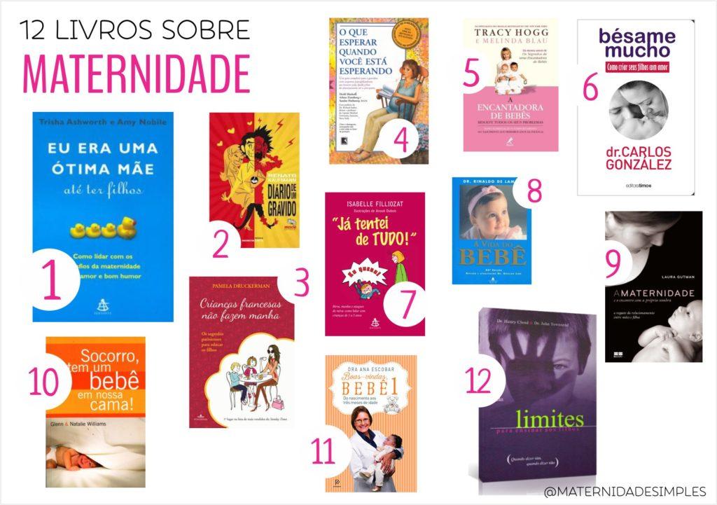 livros para mães livros sobre maternidade livros sobre criação de filhos