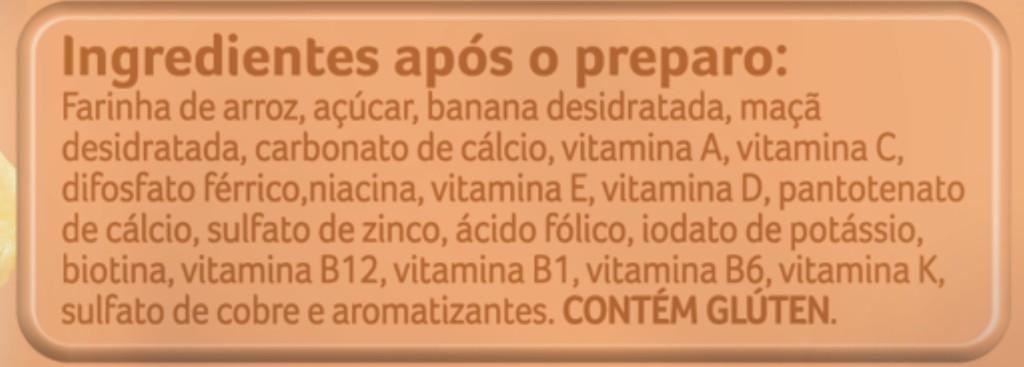 Informações sobre Cereais Milnutri, disponíveis no site da Danone