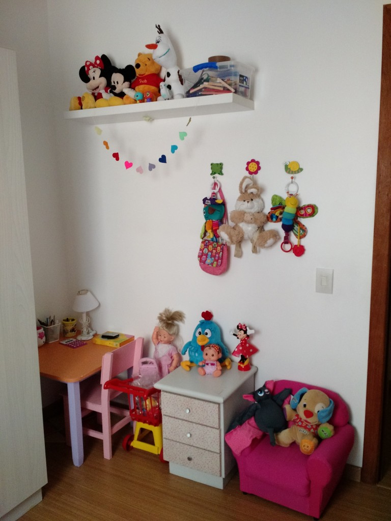 Cantinho do quarto de brincar