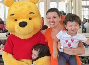 Dicas Disney com crianças: Almoço com personagens no The Crystal Palace