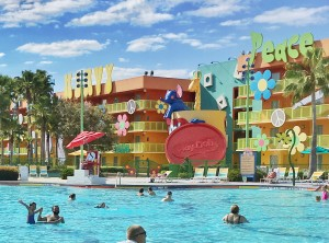 Pop Century Resort: Hotel econômico na Disney