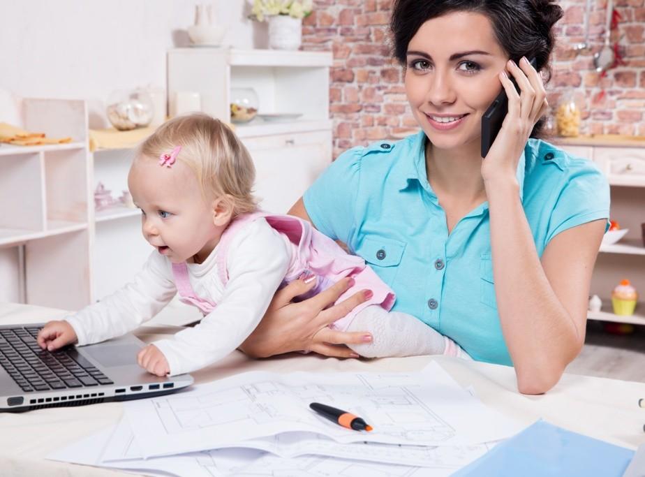 profissional e mãe