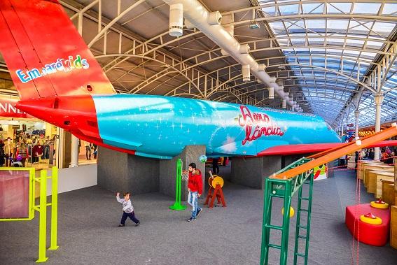 Aerolandia no Shopping Estação | Foto: Priscilla Fiedler