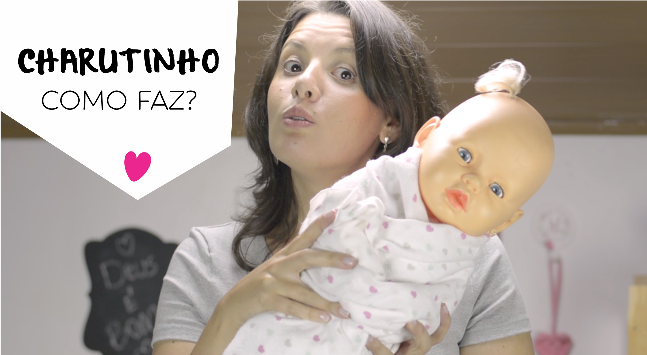 charutinho no bebê