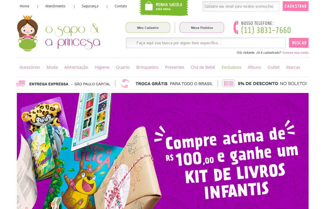 e7bdfa2b5 O Sapo e a Princesa  loja online para fofurices e itens essenciais ...
