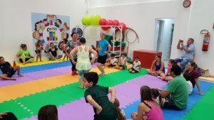 Para treinar COM as crianças