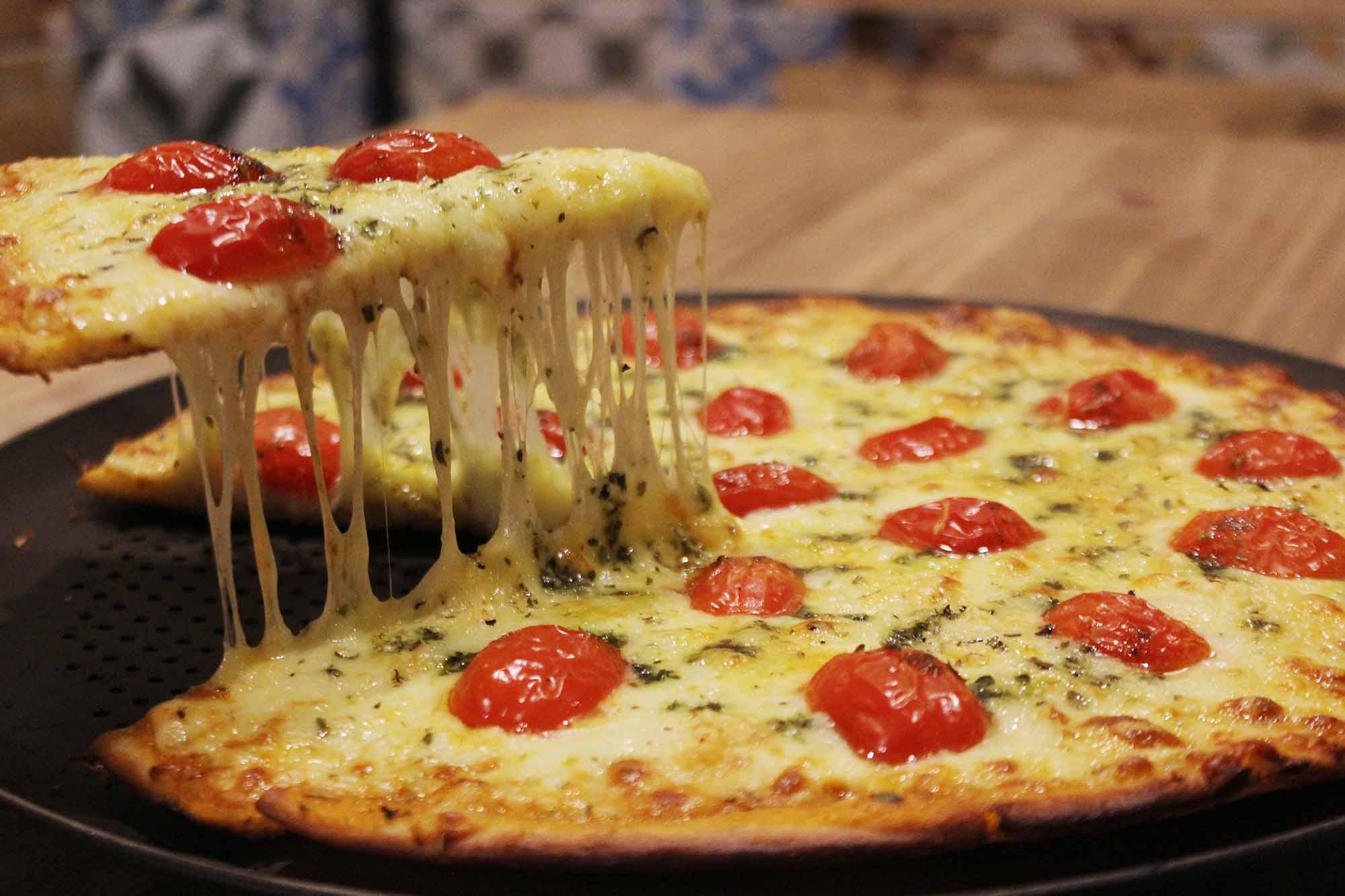 pizza sem glúten curitiba