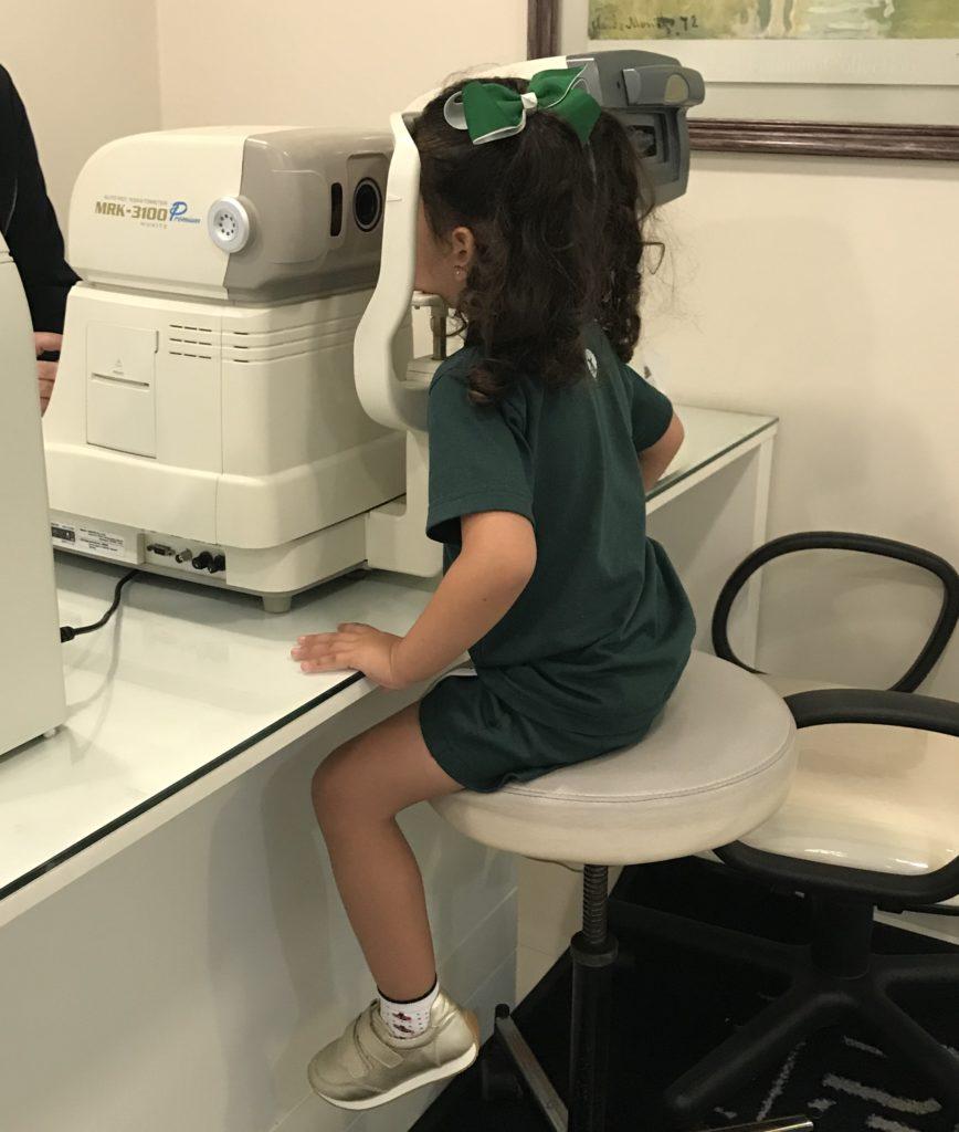 quando levar o bebê ao oftalmologista
