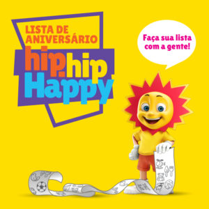 Lista de aniversário de criança: Ri Happy
