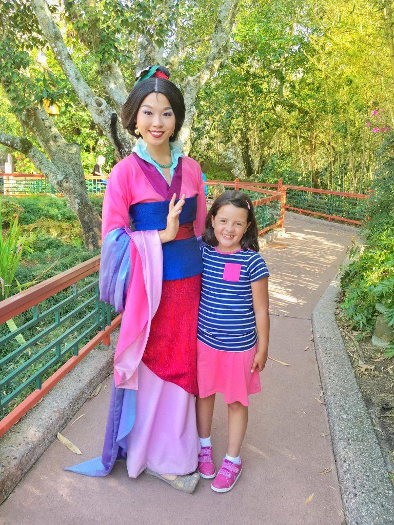 Foto Mulan Epcot Dicas Disney com crianças Epcot