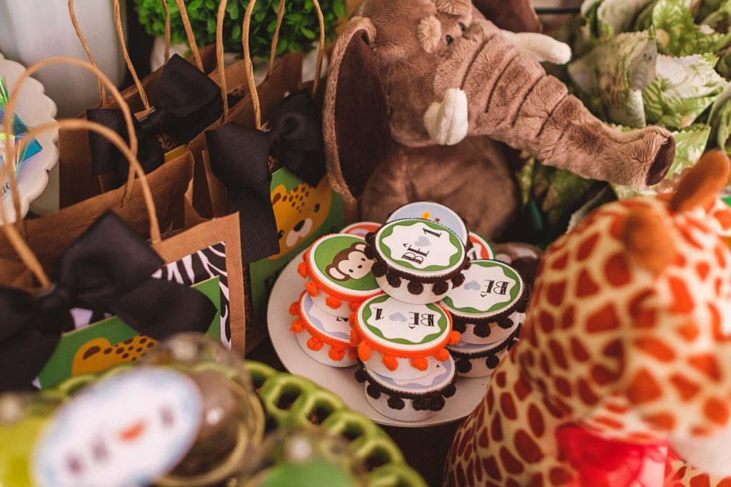 ideias para mesa festa safari
