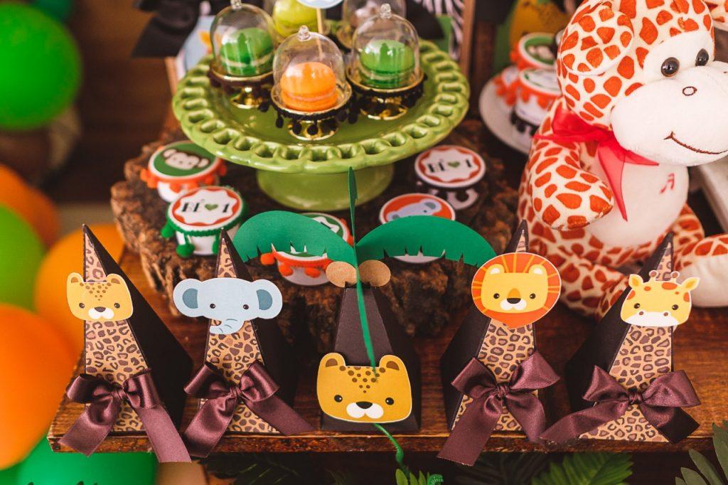 ideias festa safari