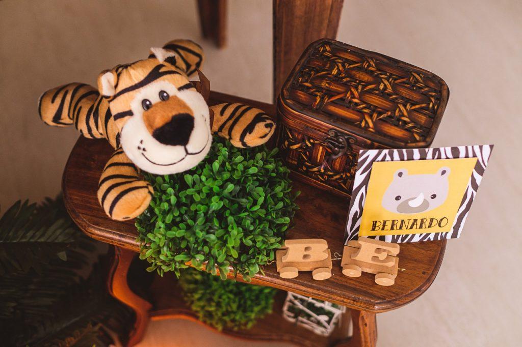 mesa aniversário safari