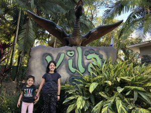 Vila Encantada: parque de dinossauros, em Pomerode