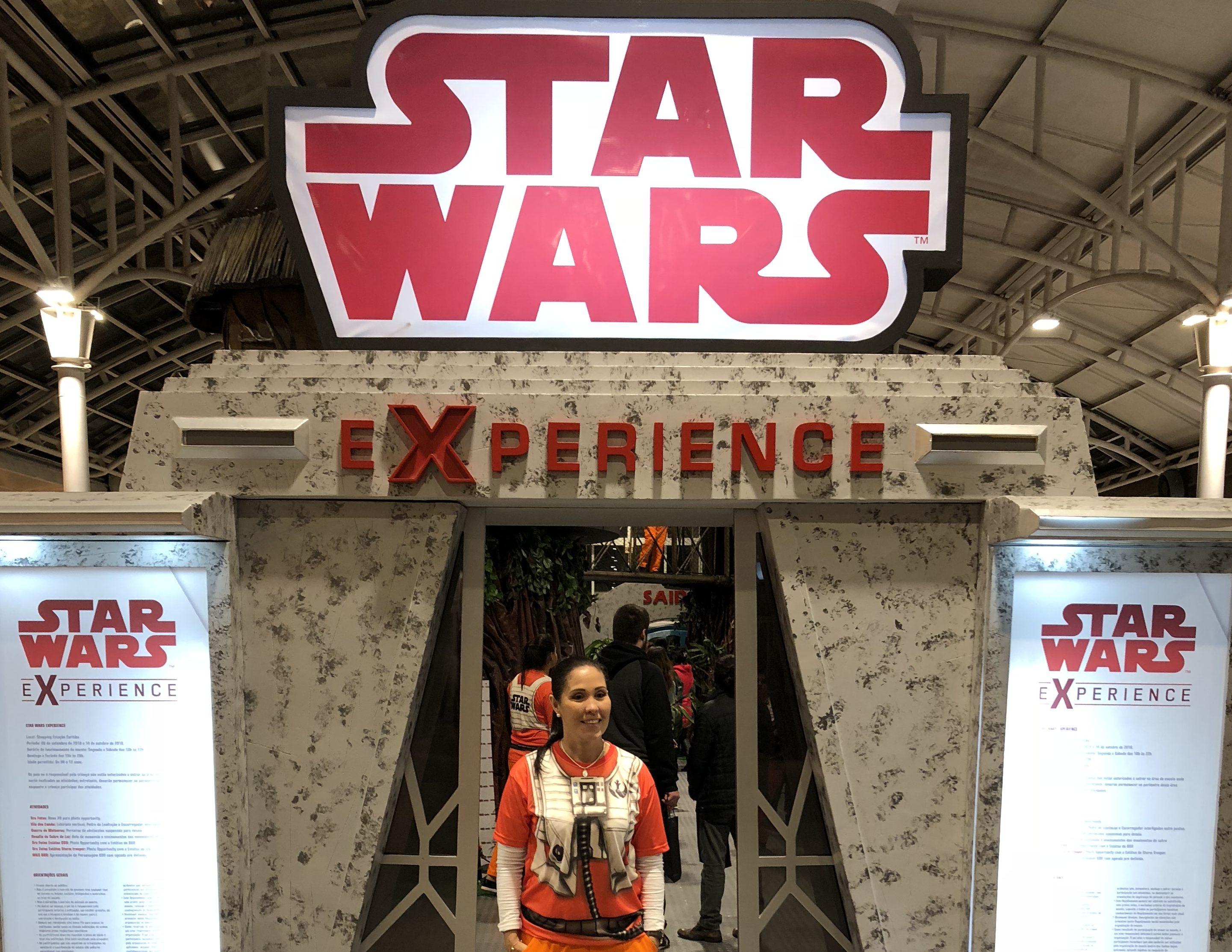 star wars no shopping estação em curitiba