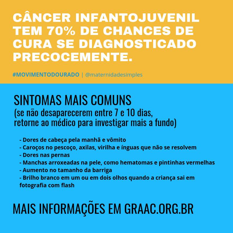 sintomas de câncer infantojuvenil crianças e adolescentes