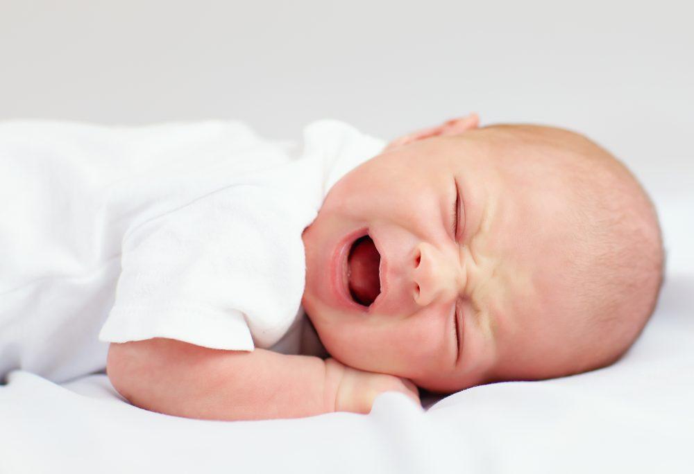 cólica do bebê