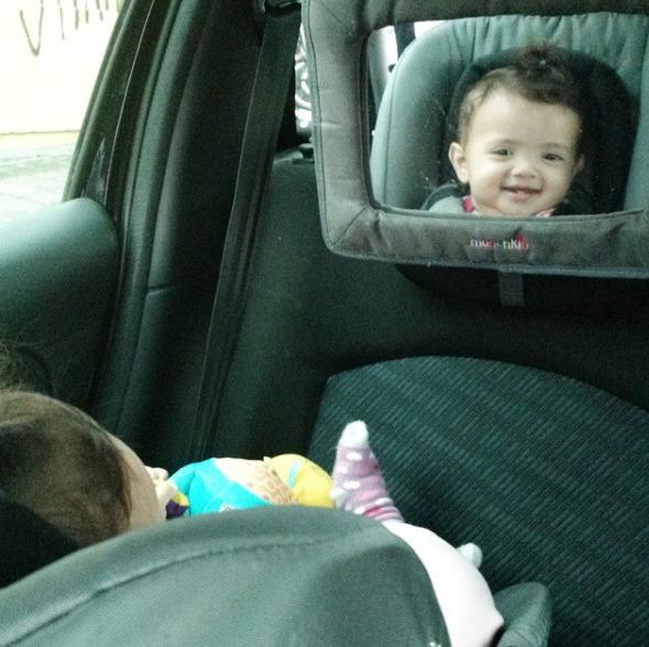 retrovisor banco traseiro bebê