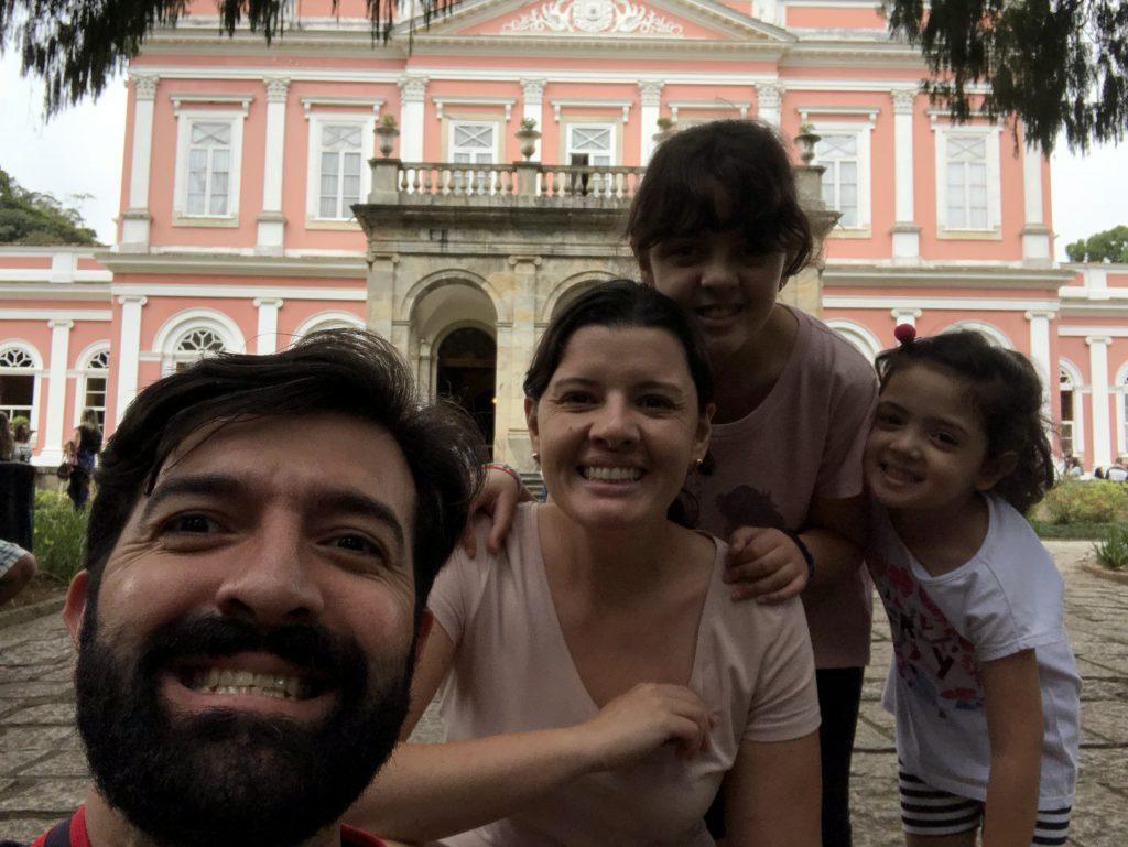 museu imperial de petropolis com crianças