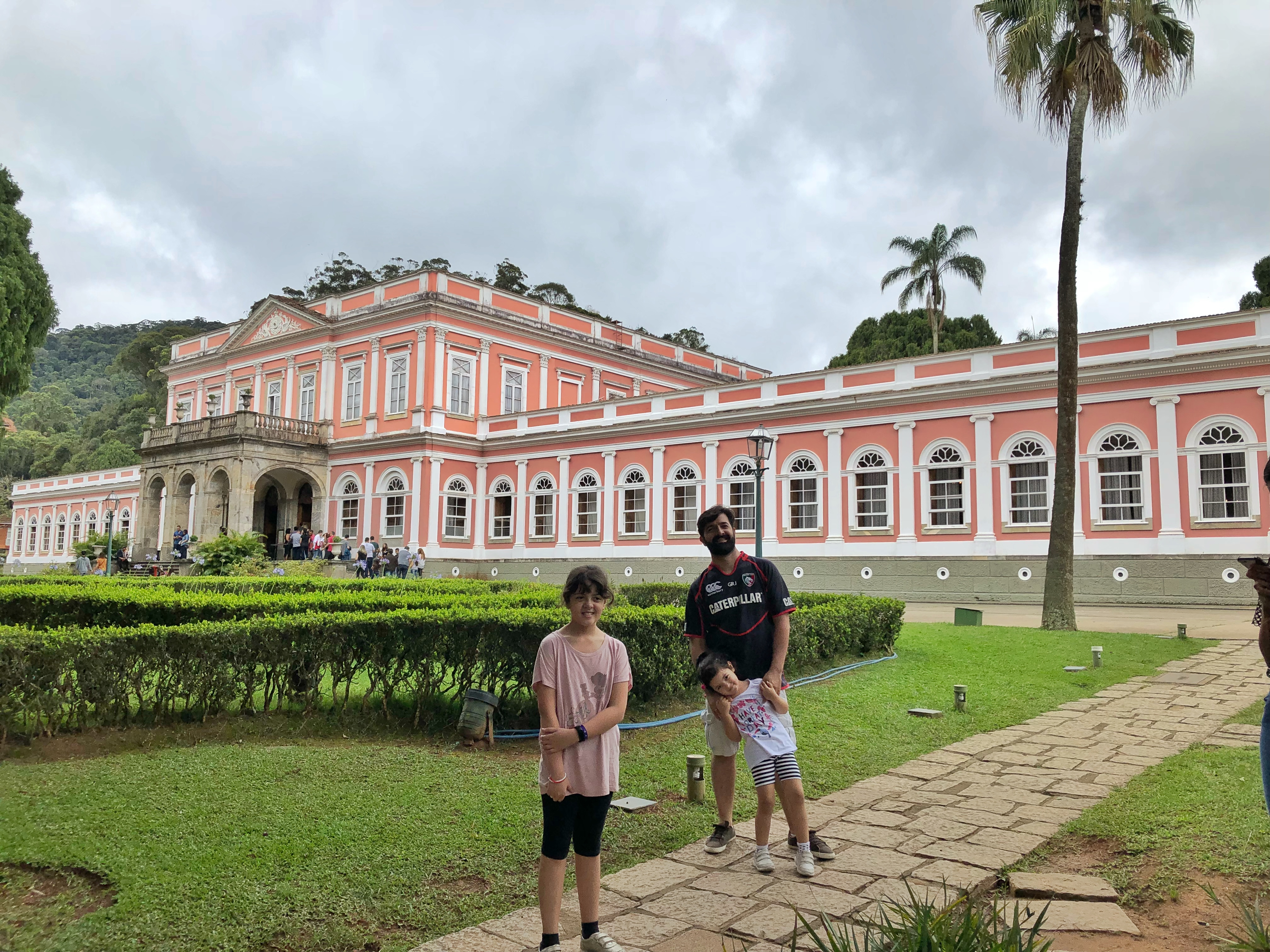 museu imperial de petrópolis com crianças