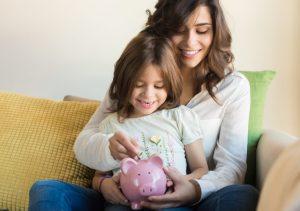 como abrir poupança para criança