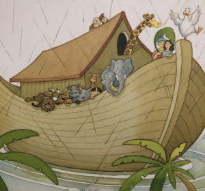 Devocional infantil: A arca de Noé