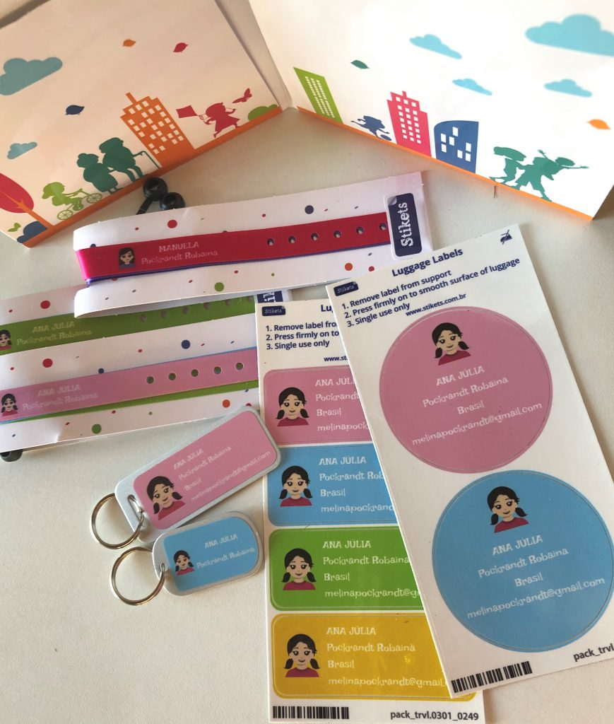 etiquetas personalizadas identificação viagem bagagem 2