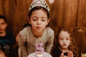 Ana Júlia faz 5   Festa Princesinha Sofia