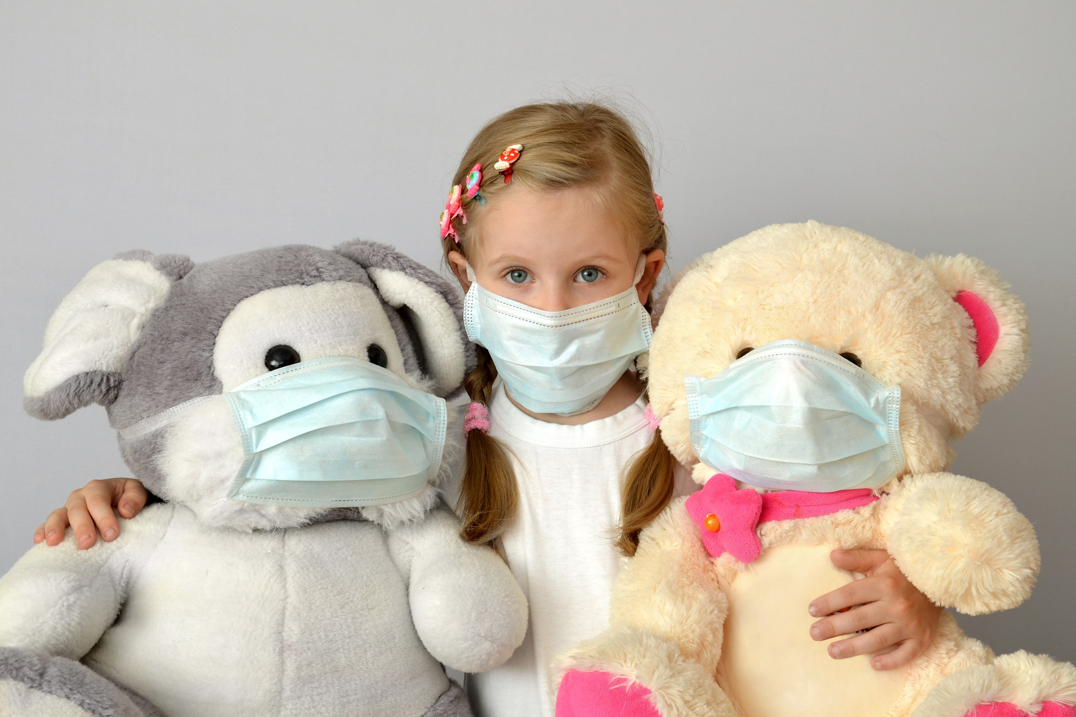 coronavirus criança