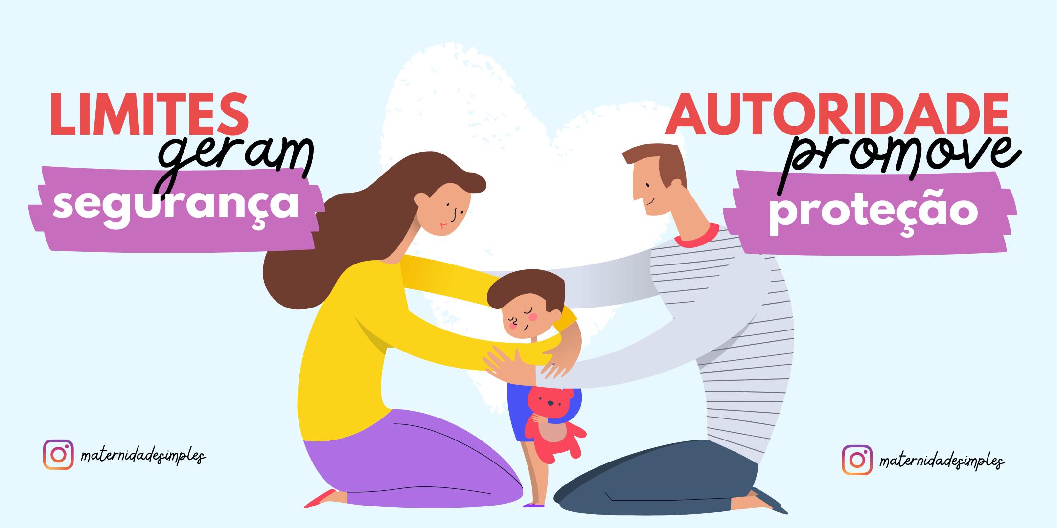beneficio dos limites e autoridade na criação de filhos