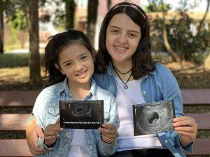 terceira gravidez contando a notícia
