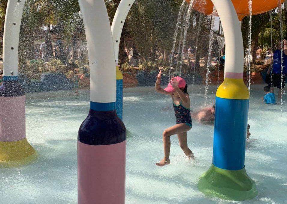 Hot Beach Park em Olímpia: nosso passeio com as crianças