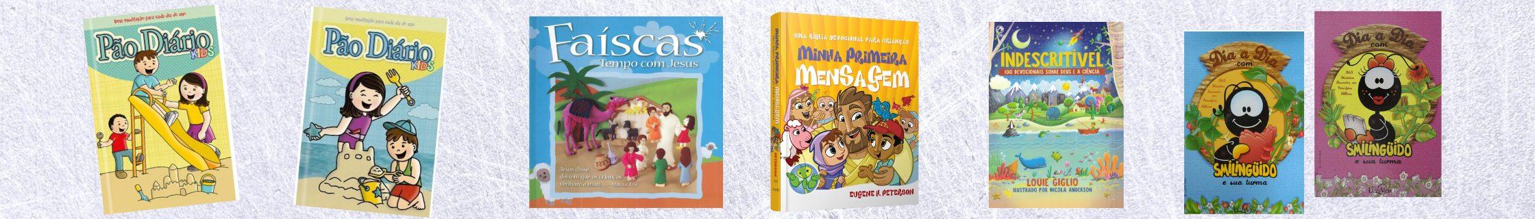 livros devocional infantil